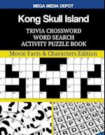 Kong Skull Island Trivia Crossword Word Search Activity Puzzle Book