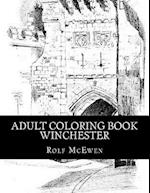Adult Coloring Book - Winchester