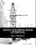 Adult Coloring Book - Liverpool