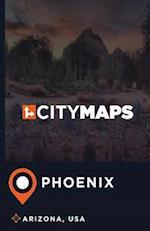 City Maps Phoenix Arizona, USA