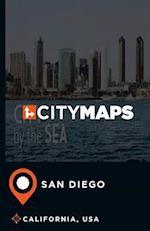 City Maps San Diego California, USA