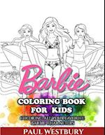 Barbie Coloring Book for Kids