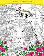 Animal Kingdom Adult Coloring Book