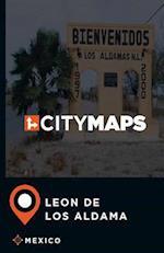 City Maps Leon de Los Aldama Mexico