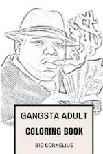Gangsta Adult Coloring Book
