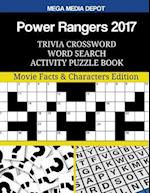 Power Rangers 2017 Trivia Crossword Word Search Activity Puzzle Book