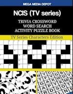 Ncis (TV Series) Trivia Crossword Word Search Activity Puzzle Book