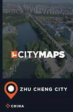 City Maps Zhu Cheng City China