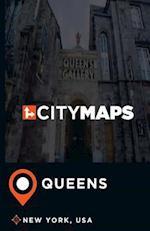 City Maps Queens New York, USA