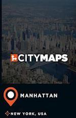 City Maps Manhattan New York, USA
