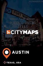 City Maps Austin Texas, USA