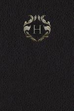 Monogram H Meeting Notebook