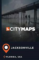 City Maps Jacksonville Florida, USA