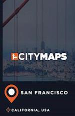 City Maps San Francisco California, USA