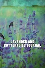 Lavender and Butterflies Journal