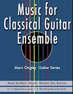 Music for Classical Guitar Ensemble