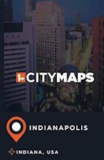City Maps Indianapolis Indiana, USA