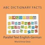 ABC Dictionary Facts. Parallel Text English-German