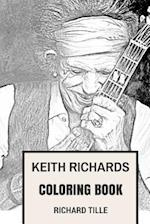 Keith Richards Coloring Book