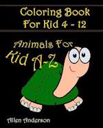 Coloring Books for Kids A-Z