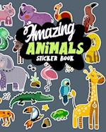 Amazing Animals Sticker Book