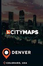 City Maps Denver Colorado, USA