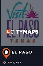 City Maps El Paso Texas, USA