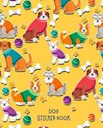 Dog Sticker Book