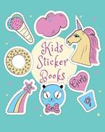 Kids Sticker Books Girls