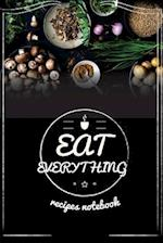 Recipes Notebook Eat Everything