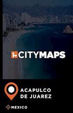 City Maps Acapulco de Juarez Mexico