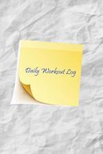 Daily Workout Log
