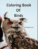 Coloring Book of Birds