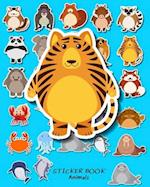 Sticker Book Animals