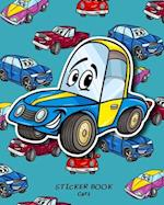 Sticker Book Cars