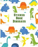 Sticker Book Dinosaur