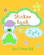 Sticker Book for 2 Year Old