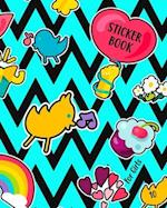 Sticker Book for Girls 10