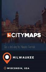 City Maps Milwaukee Wisconsin, USA