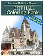 City Hall Coloring Book Relaxation Meditation Blessing