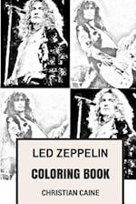 Led Zeppelin Coloring Book