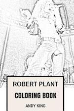 Robert Plant Coloring Book