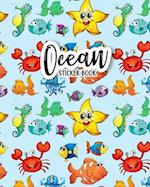 Sticker Book Ocean