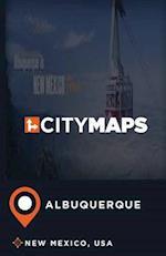City Maps Albuquerque New Mexico, USA