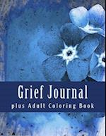 Grief Journal Plus Adult Coloring Book