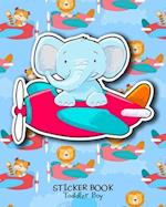 Sticker Book Toddler Boy