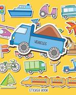 Sticker Book Vehicles