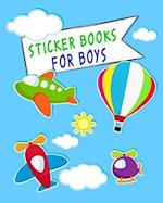 Sticker Books for Boys