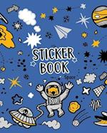Sticker Book Space