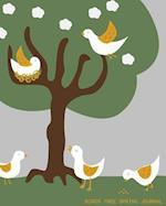 Birds Tree Spring Journal